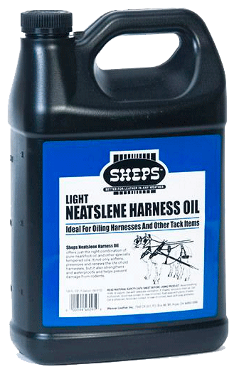 Sheps Light Neatslene Harness Oil Lærolje