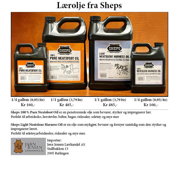Sheps Neatsfoot Oil